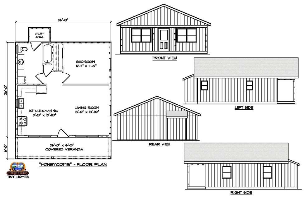 Circa 1816 Homes - 1 Bedroom Bungalow