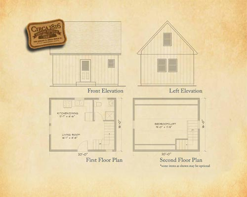 Circa 1816 Homes - 1 Bedroom Chalet