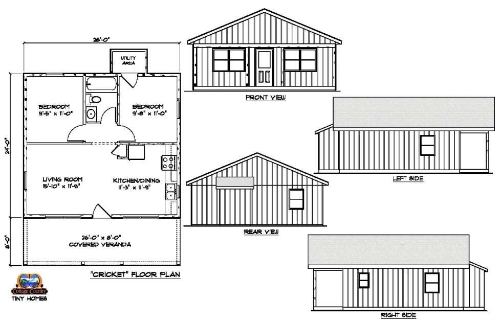 Circa 1816 Homes - 2 Bedroom Bungalow