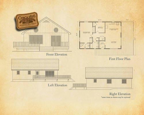Circa 1816 Homes - 2 Bedroom Premium Bungalow