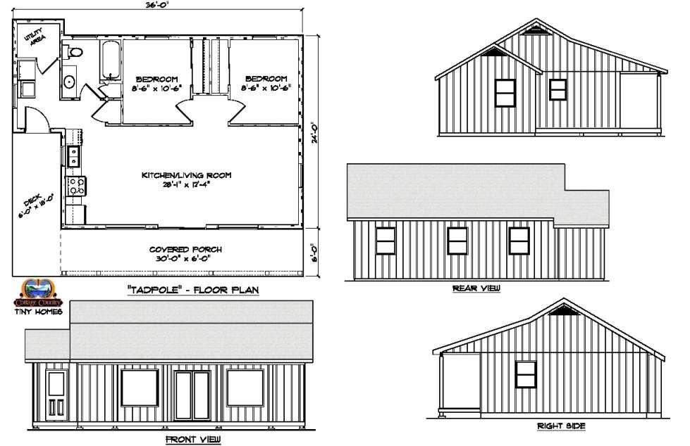 Circa 1816 Homes - 2 Bedroom Ranch