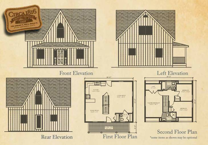 Circa 1816 Homes - The Farmhouse