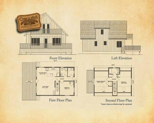 Circa 1816 Homes - 3 Bedroom Premium Chalet