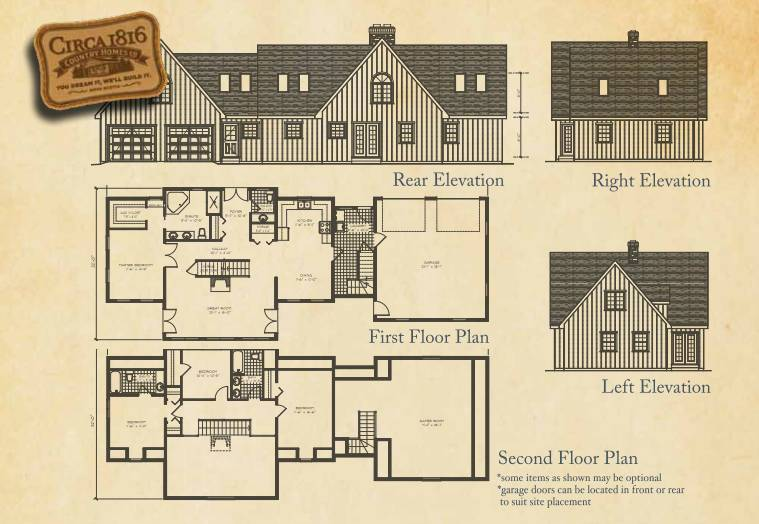 Circa 1816 Homes - The Country Lodge