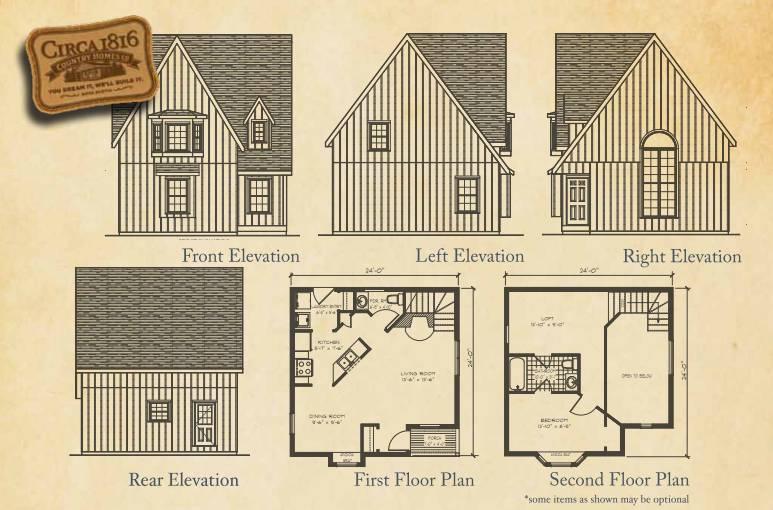 Circa 1816 Homes - The Baby Victorian