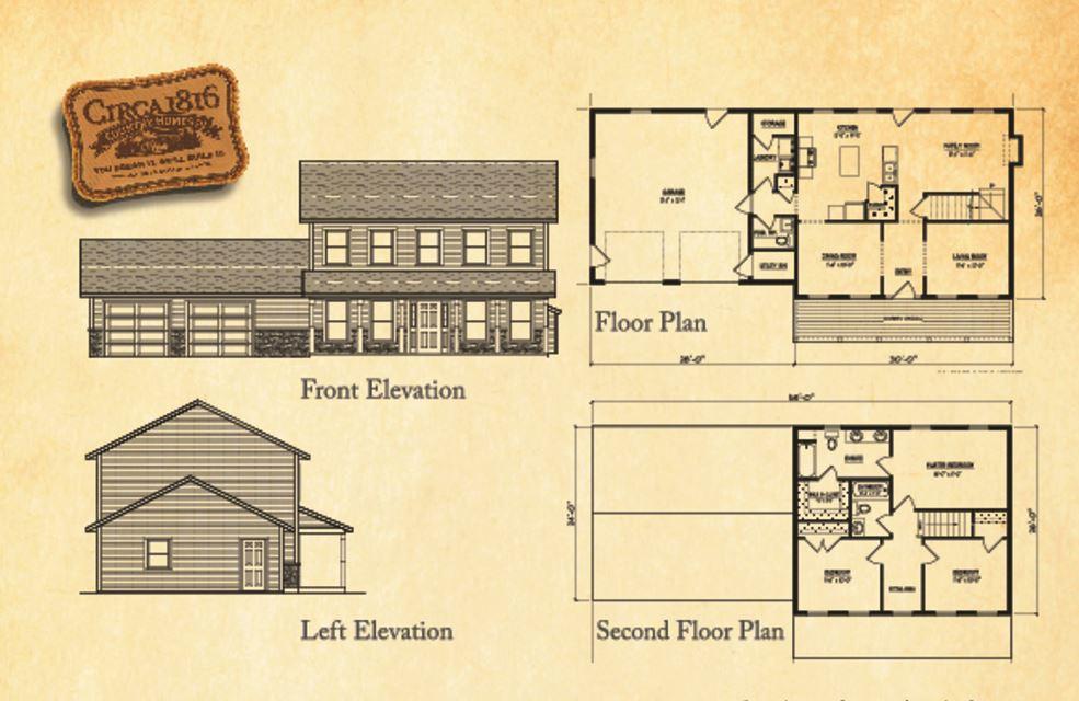 Circa 1816 Homes - Custom Cape