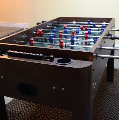 Time for a foosball challenge